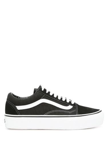 Vans Vans Platform Old Skool  Kadın Süet Sneaker 101188497 Siyah